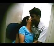 Couple indien en caméra cachée