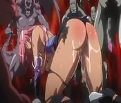 Orgie hentai avec des démons