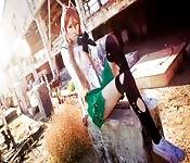 Des Japonaises en cosplay très chauds